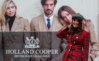 Holland Cooper  , new store launch images in Multrees Walk , Edinburgh.