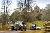 Launch of 2018 BVAC Classic at Thirlestane Castle, Lauder, Scottish Borders.